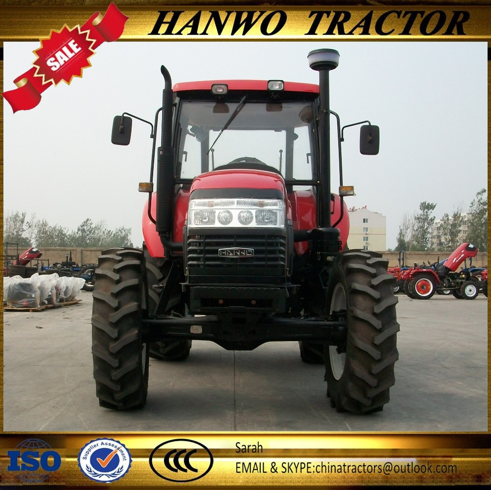 Top quality new agricultural machines HW1204 farming tractor