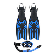 Water Sports Scuba diving mask rubber flipper with gopro mount