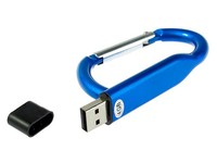 Ring Shape Carabiner usb flash drive Spring Snap Key Chain Clip Hook Lock