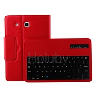 Tablet Leather Case for Samsung Galaxy Tab E 9.6 Inch Tablet PC with Removable Bluetooth Keyboard