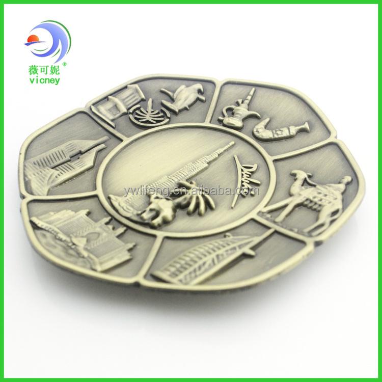 hot selling Personalized dubai metal fridge magnet