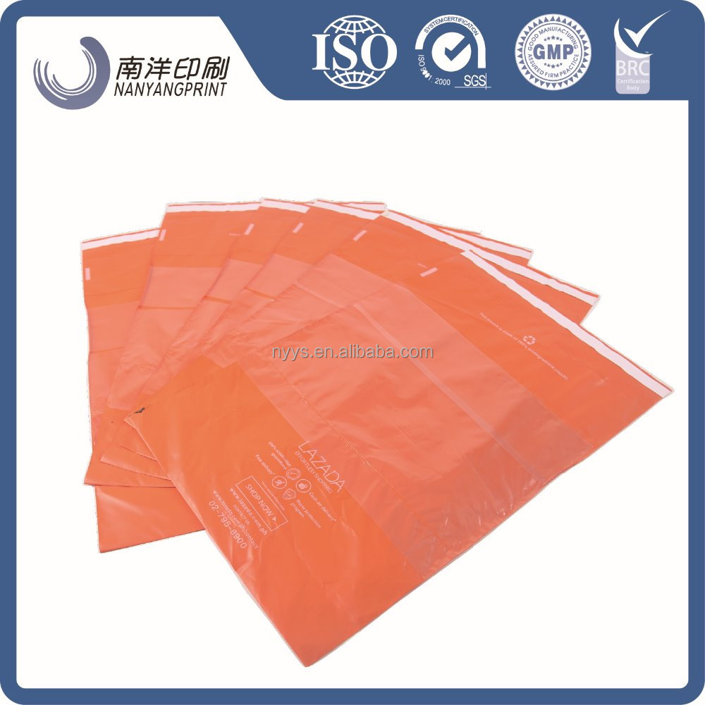 Plastic shipping envelope courier mail clothes packaging bag polythene mailing bags waterproof poly mailer