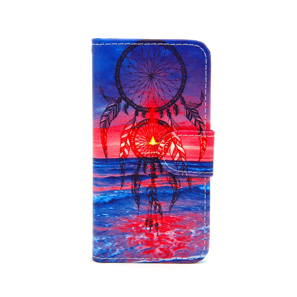 Custom Design High Quality Waterproof Wallet Flip Leather Case for Apple iPhone 5g/5c/5s