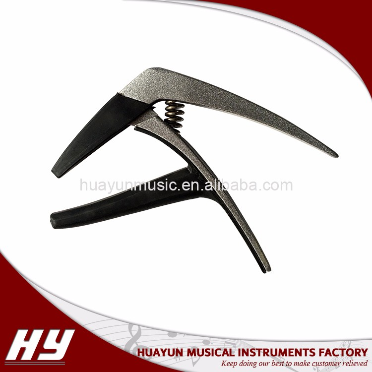 High-end aluminum alloy OEM GT guitar capo