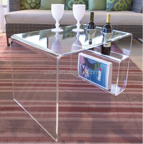 China made Eco-friendly online shopping customized acrylic furniture wholesale