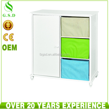wholesale new design wooden cabinet with basket drawers , colors of bedroom cabinet