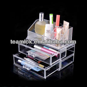Collection box organizer acrylic cosmetic stands