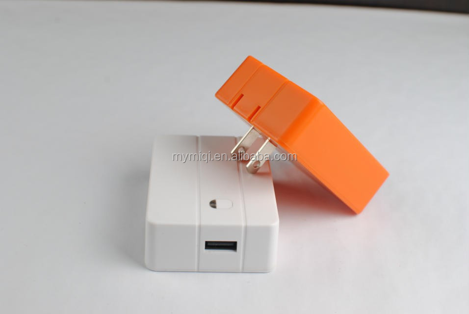 2 in 1 United states plug power bank wall charger 4000mah for mobile phones