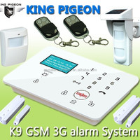 LCD Display Wireless Alarm GSM Home