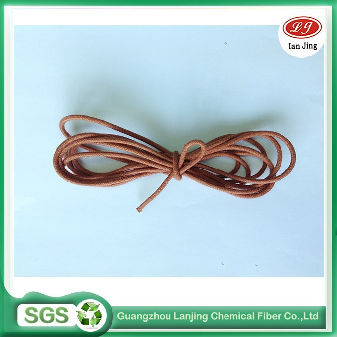 Massive produce brown color cotton rope for handle use