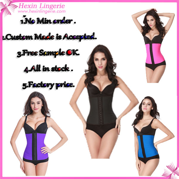 2015Wholesale Clothing Made in China Waist Training Corsets