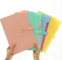 pp pockets plastic clear plastic file folder with the divider