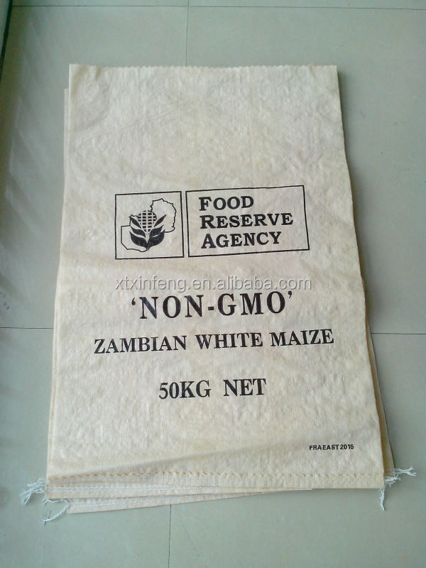 food grains pp woven sack,corn bags,high quality seed bags exported to Zambia Afria South America