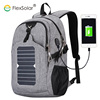 Flexsolar 5.3Watts Biking Charging Mobile Tablets waterproof bagpack backpack with solar panel charger