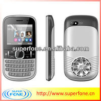 Qwerty keypad phones loud speaker phone C300 2.0 inch dual sim low price mobile