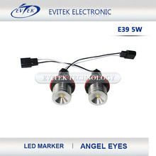 Angel Eyes Led Headlights Wholesale China 6000K 3W Led Marker for BMW E46 Angel Eyes