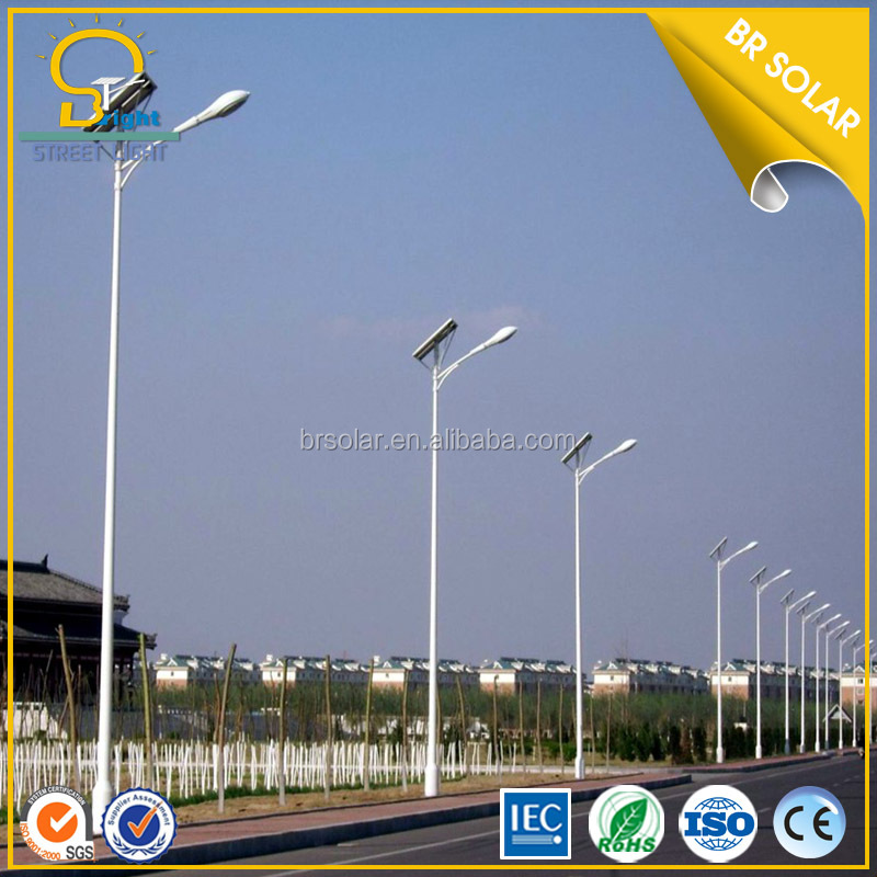 CE/FCC/RoHS approval highway supplier 100W solar street light project proposal