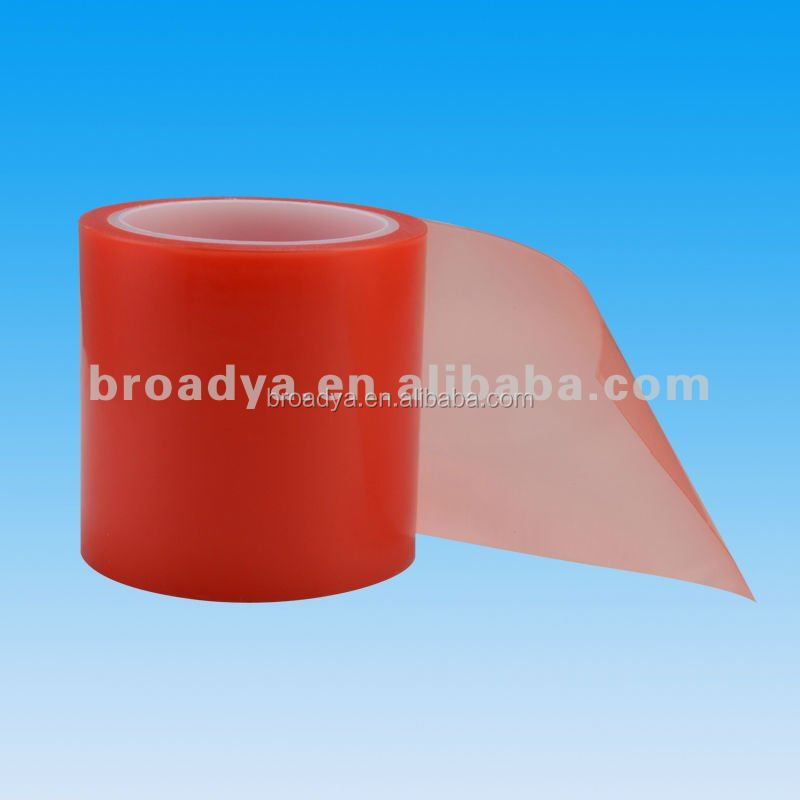 Transparent Double Sided Red Polyester Adhesive Tapes