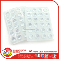 Small rubber bumpers table pad adhesive bumper protector Glass table pad