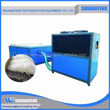 large ice block machine for fishery and seafood