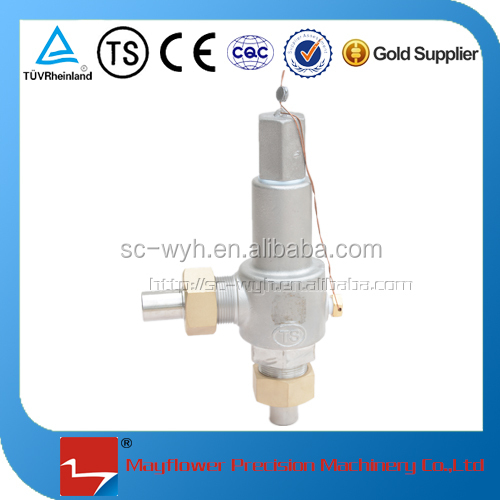 pressure cryogenic safety valve relief valve
