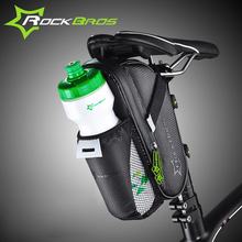 RockBros Waterproof Bike Bicycle Tail Bag Cycling Frame Saddle Bag