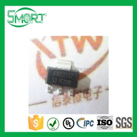 Smart bes AMS1117-3.3V SOT-23 Voltage chip Power IC Step-down IC Linear regulator and Electronic Components Supplies