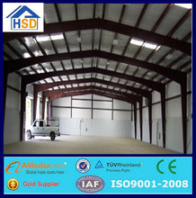 prefabricated portable mobile two story steel structure warehouse