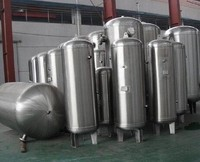 High Pressure Stainless Steel Air Tank for sale