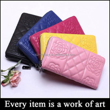 (sz-wallet 100) high range wallet to import stitching women clutch purse leather lambskin