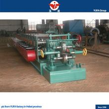 metal roofing tiles ridge cap gutter roll forming machine
