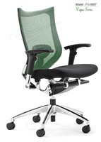 Triumph Mid-Back Black Mesh Chair office Triple Paddle Control executive office chair with wheels / ergonomic office chair