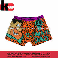 Custom Colorful Underwear Funny Boxer Shorts for Men