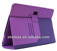 Light-weight Wholesales Ultra Thin Magnetic PU Leather Smart Case Cover for Apple iPad 5 iPad Air