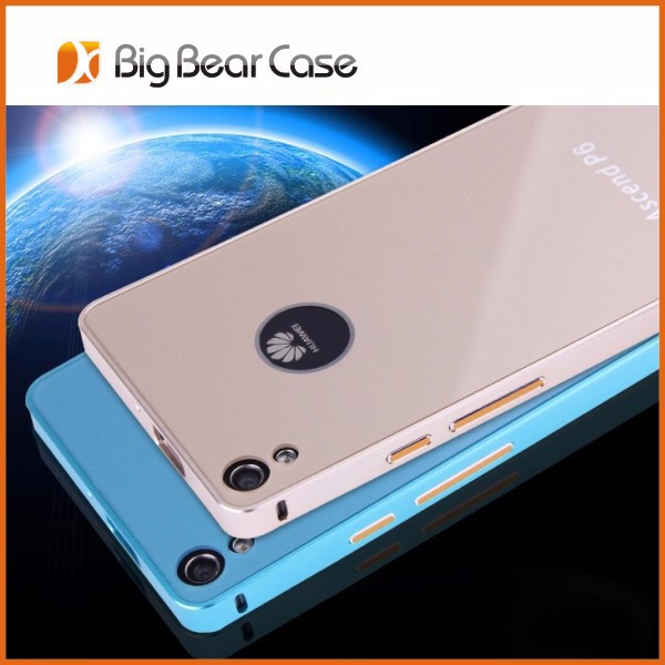 Metal phone case for huawei ascend p6 case