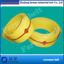 China Popular 28oz Cotton Flat Transmission Belt For Agriculture Industry