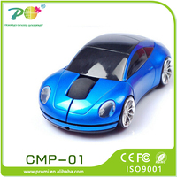 2016 promotional gift items wireless car shaped optical mouse