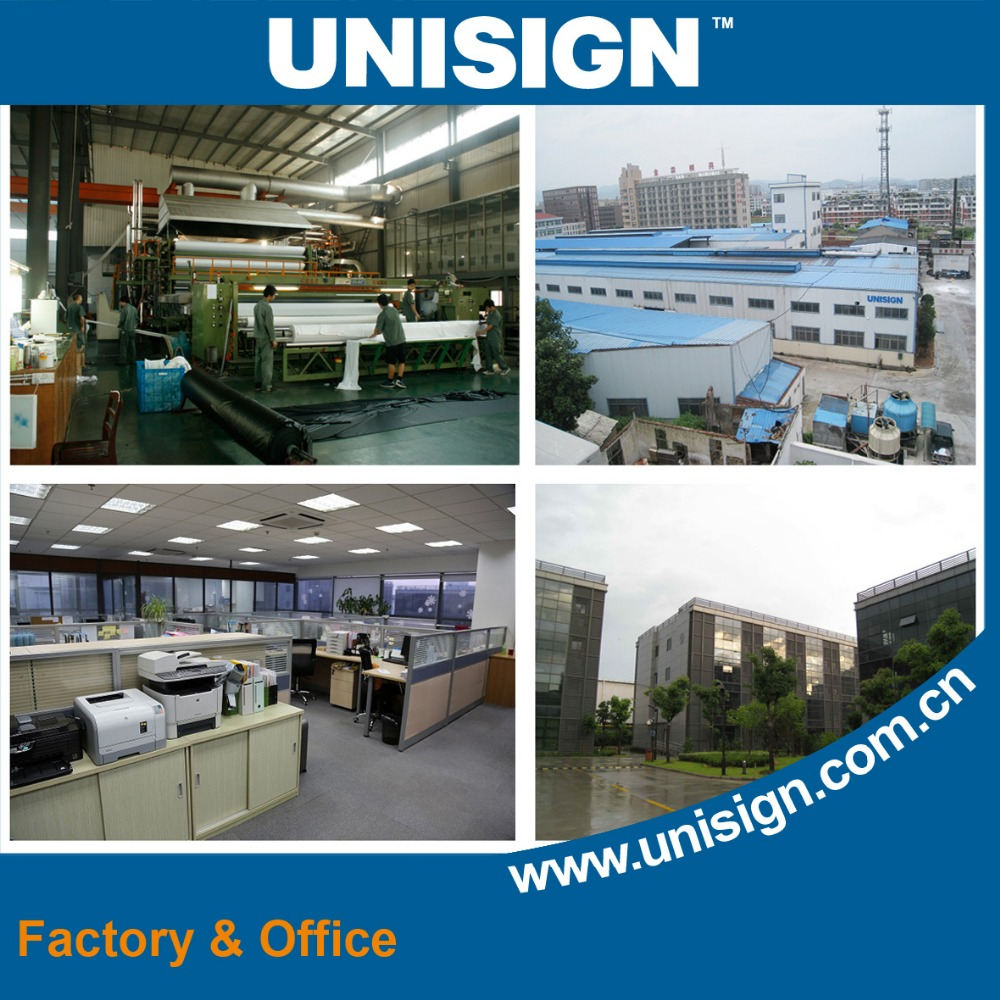 Unisign High Quality PVC Strip Screen Printed Sichtschutzstreifen