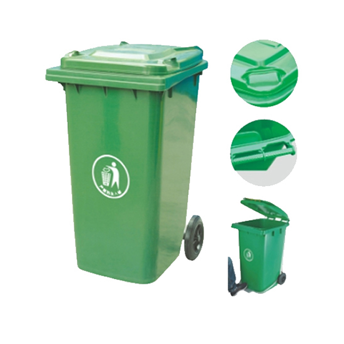 Different types of waste bin, waste trolley bin, large size garbage waste bin
