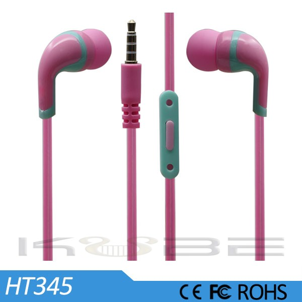 Mobile Phone Use and In-Ear Style disposable earphones cheap earphone