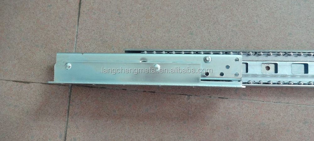 Heavy-duty Synchronous Ball Bearing Telescopic Table Slide Runner(extension table mechanism)