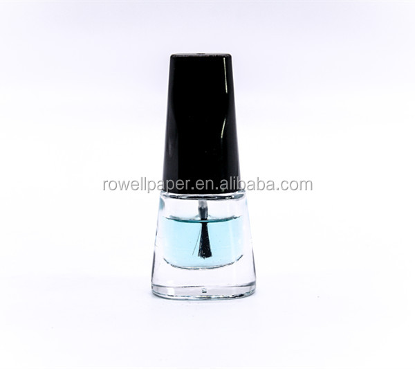 7ml nail polish bottle bamboo shoots glass bottle manufacturer made in China