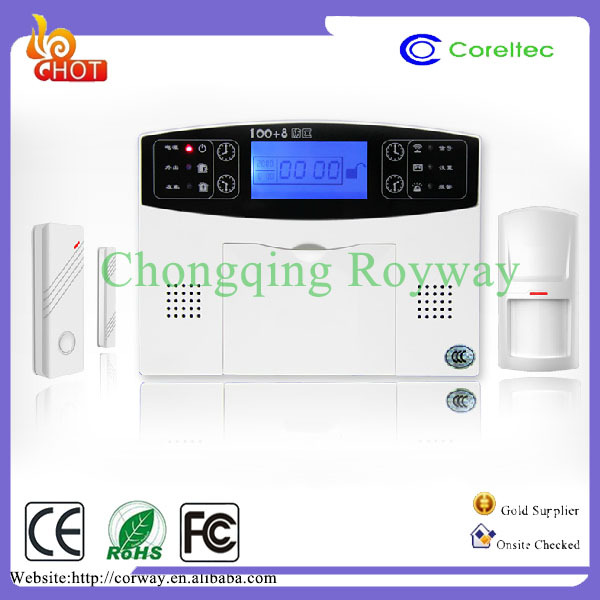 Hot New Products For 2015 Full Touch Keypad Home Automation GSM Security Alarm System