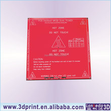 3D printer PCB hot bed Heated Mk2b 12V 24V dual power Mk2 RepRap Mendel Prusa