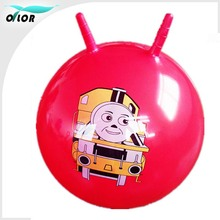 60 cm PVC material child playing jumping hopper ball