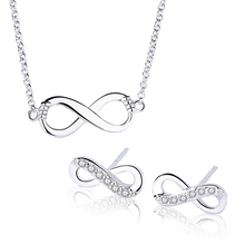 925 Sterling Silver Personalized Infinity Jewelry