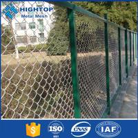 Galvanized used chain link fence panels, Chain link fence for baseball fields