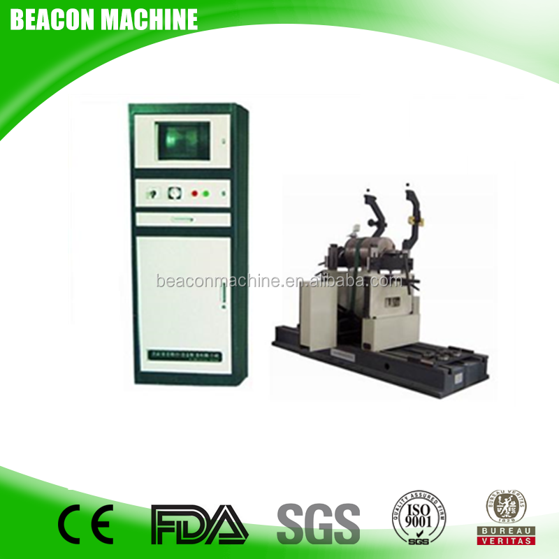 High-quality balancing and precision YYQ-160A belt drive fan balancing machine for Pump