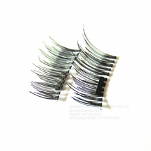 Magnetic Eye Lashes 3D Mink Reusable False Magnet Eyelashes Extension