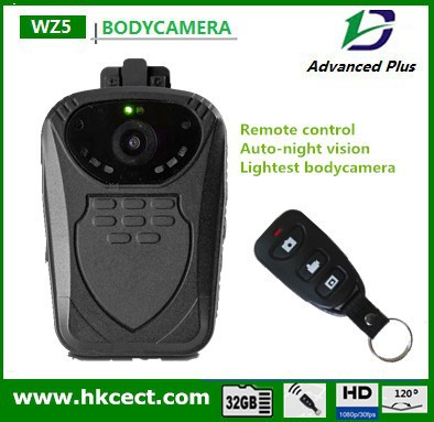 Infrared Technology and Police Body Worn Camer Style Police Camera remote control body worn police camera